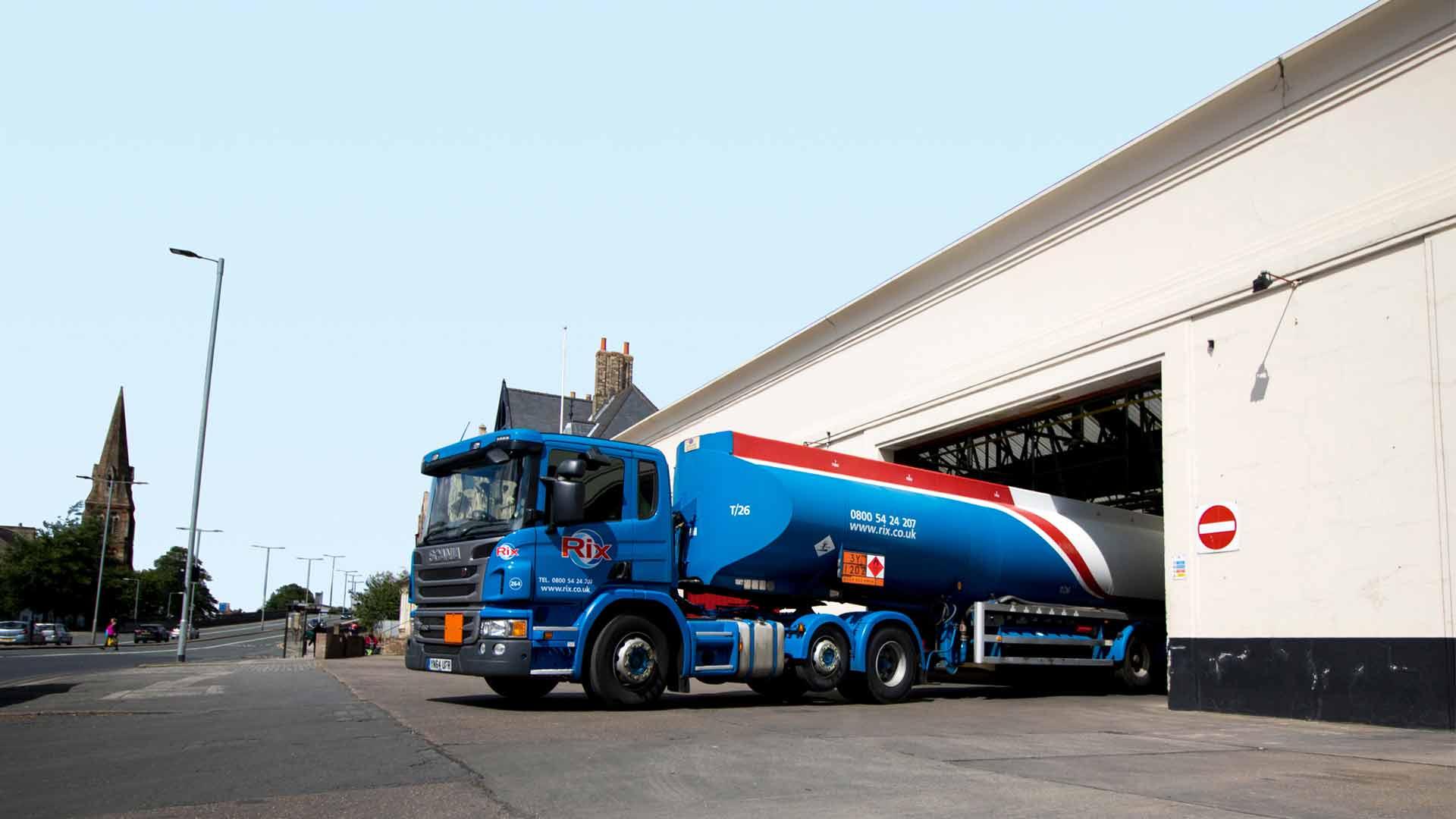 Forward Purchasing Bulk Fuel in Rix Lorry