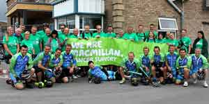 Tour de Rix for Macmillan Cancer Support