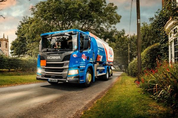 Rix Petroleum National Accounts Delivery Tanker